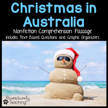 Christmas in Australia Reading Passage Nonfiction Text & Questions