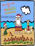 Christmas in Australia bundle for Speech Therapy