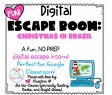 Christmas in Brazil: Digital Escape Room | Google Slides