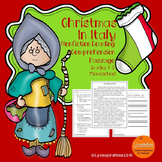 Christmas in Italy: Non-fiction Reading Comprehension Passage For Grades 1-3