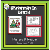 Christmas in Brazil Reader (Christmas Around the World Booklet) Young Learners