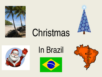 Christmas in Brazil powerpoint