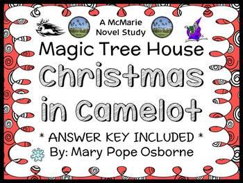 Christmas in Camelot: Magic Tree House #29 (Osborne) Novel Study / Comprehension