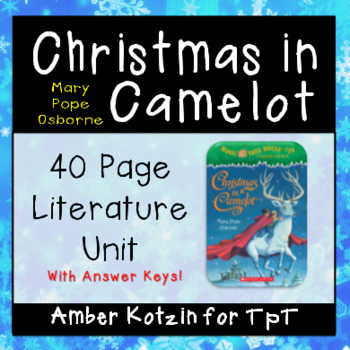 Christmas in Camelot (Magic Tree House) Literature Guide (
