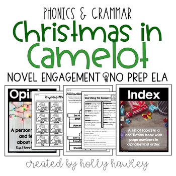 Christmas in Camelot NO PREP (ELA)