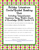 Christmas in Camelot Novel Study Webb's DOK Questions Extensions Vocabulary