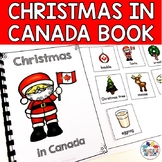 Christmas in Canada Adapted Book for Special Education
