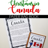 Christmas in Canada - Christmas Around the World Paper Bag Book