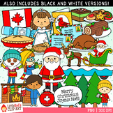 Christmas in Canada Christmas Clip Art