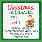 Christmas in Canada (ESL 1)