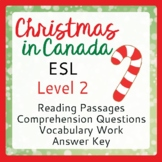 Christmas in Canada (ESL 2)
