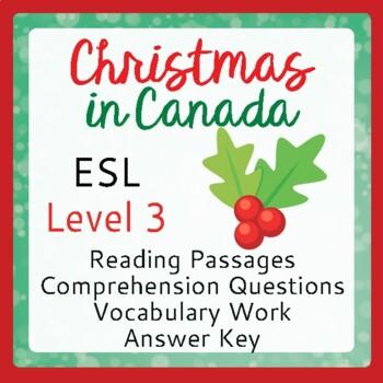 Christmas in Canada (ESL 3)