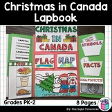 Christmas in Canada Lapbook for Early Learners - Christmas Around the World