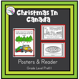 Christmas in Canada Reader (Christmas Around the World Booklet) Young Learners