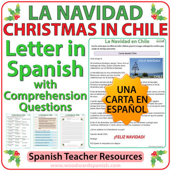 Christmas in chile letter in spanish with worksheets by woodward christmas in chile letter in spanish with worksheets spiritdancerdesigns Image collections