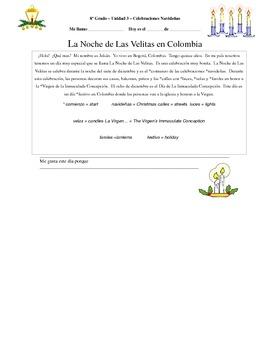 Christmas in Colombia - La Navidad en Colombia - La Noche de Las Velitas