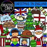 Christmas in England Clipart {Creative Clips Clipart}