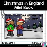 Christmas in England Mini Book for Early Readers - Christm