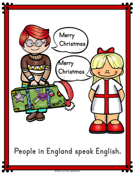 Christmas in England Reader (Christmas Around the World) Young Learners
