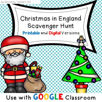 Christmas in England Scavenger Hunt