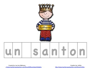 Christmas in France Spelling