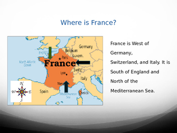 Christmas in France - PowerPoint