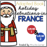 Christmas in France Adapted Books | Christmas Around the World Readers