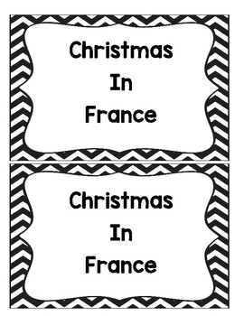 Christmas in France Book