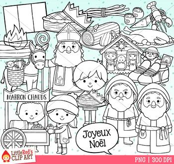 Christmas in France Christmas Clip Art