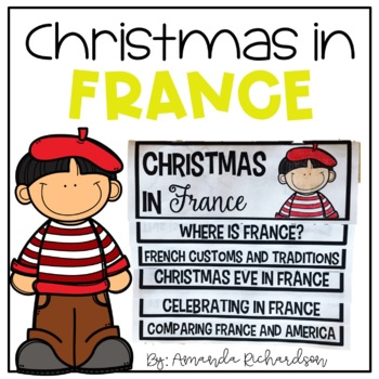 Christmas in France Flip Up Book