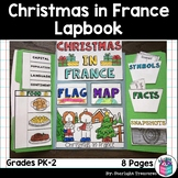 Christmas in France Lapbook for Early Learners - Christmas Around the World