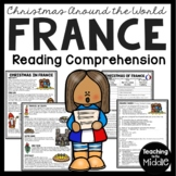 Christmas in France Reading Comprehension; Christmas Around the World