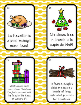 Christmas in France Scavenger Hunt