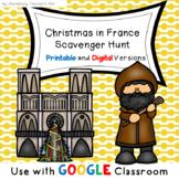 Christmas in France Scavenger Hunt