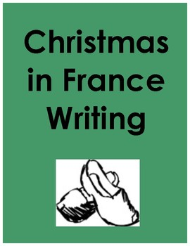 Christmas in France Writing