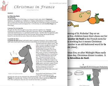 Christmas in France or Pepper et les Treize Desserts with French Vocabulary