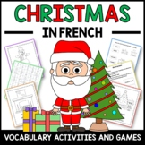 Christmas Activities and Games in French - Noël en Français