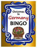 Christmas in Germany BINGO + 12 bonus pages of vocabulary words