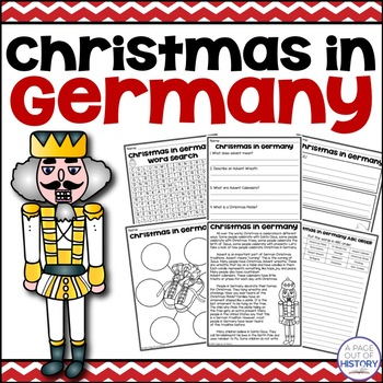 Christmas in Germany - Christmas Around the World Social Studies Unit