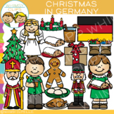Christmas in Germany Clip Art {Christmas Around the World Clip Art}