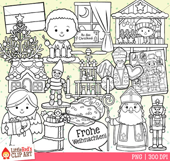 Christmas in Germany Christmas Clip Art