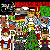 Christmas in Germany Clipart {Creative Clips Clipart}