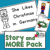 Christmas in Germany Emergent Reader and Activities