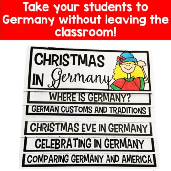 Christmas in Germany Flip Up Book