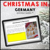 Christmas in Germany Google Slides ™ Holidays Around the World