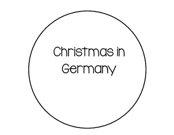 Christmas in Germany Interactive Reader