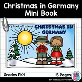 Christmas in Germany Mini Book for Early Readers - Christmas Activities