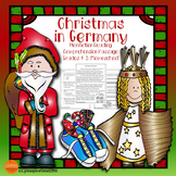 Christmas in Germany: Non-fiction Reading Comprehension Pa