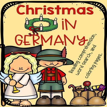 Christmas in Germany Reading Comprehension and Activities