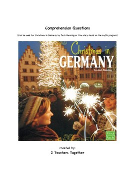 Christmas in Germany for MyOn